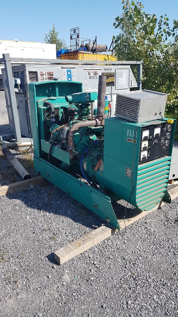 UsedGenset, Muffler and ATS