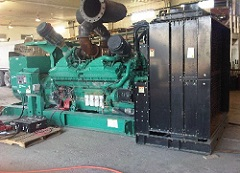 used standby generator